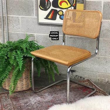 LOCAL PICKUP ONLY ———— Vintage Cesca Chair by RetrospectVintage215