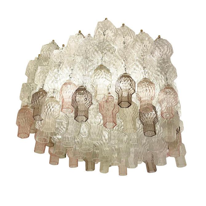 Multi-Color Murano Glass Chandelier by Seguso
