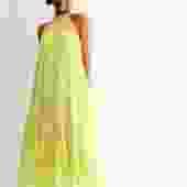 Rhode Neon Maxi Dress, Size S