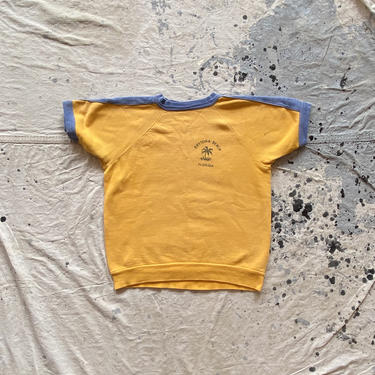 Vintage Daytona Beach Short Sleeve Sweatshirt by NorthGroveAntiques