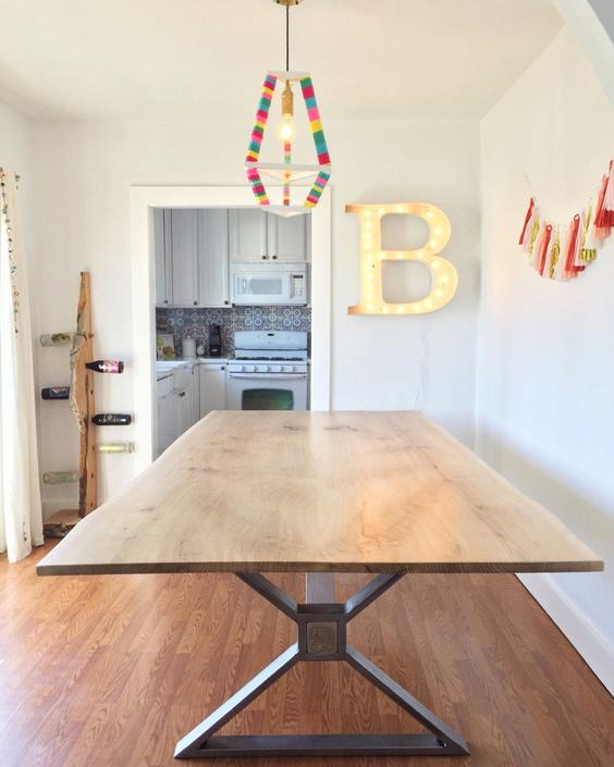 Custom Live Edge Dining Table Quote by TheBeardedBowtie