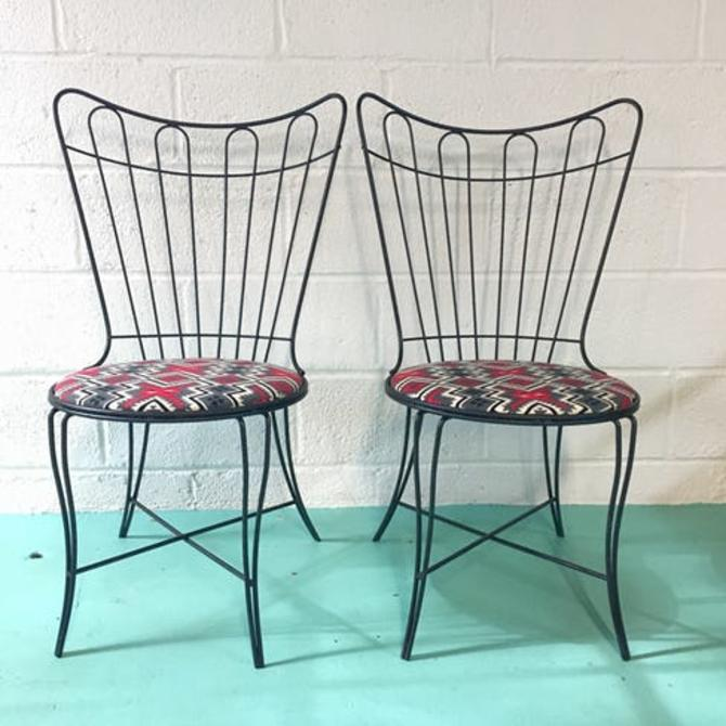 Pair of Mid-Century Modern Homecrest chairs