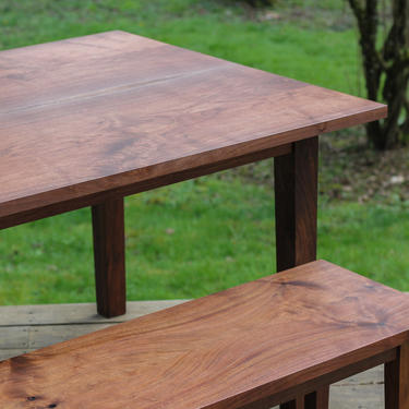 4 Leg Dining Table by MakersWoodworks