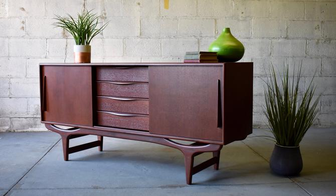 Mid Century Modern DANISH CREDENZA media stand by CIRCA60