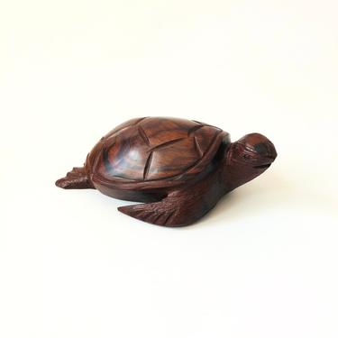 Vintage Carved Ironwood Turtle by SergeantSailor