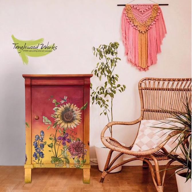 Sunset Garden Cabinet