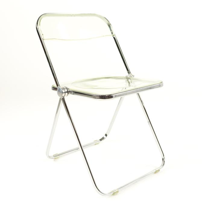 Anonima Castelli Italian Lucite Folding Chair by ModernHill