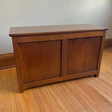 Custom Blanket Chest—Hand-built with Hardwood by BenNewmanFurniture