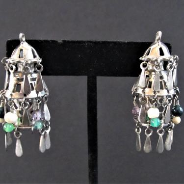 Natacha Bertrand Earrings Lantern by ArtloversFinds