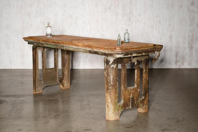 Delta Machine Shop Table