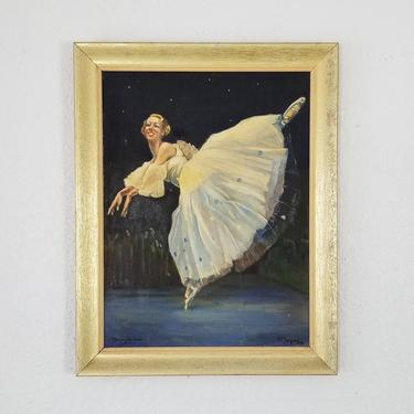 """1955 D. E Simpson """" Miss Dorothy Anderson """" Oil Painting. by MIAMIVINTAGEDECOR"""