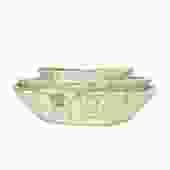 White Washed Vintage Bowl