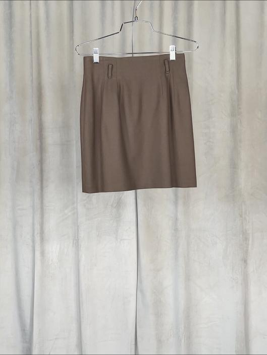 Vintage Brown Miniskirt