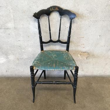 Antique Chinoiserie Childs Chair