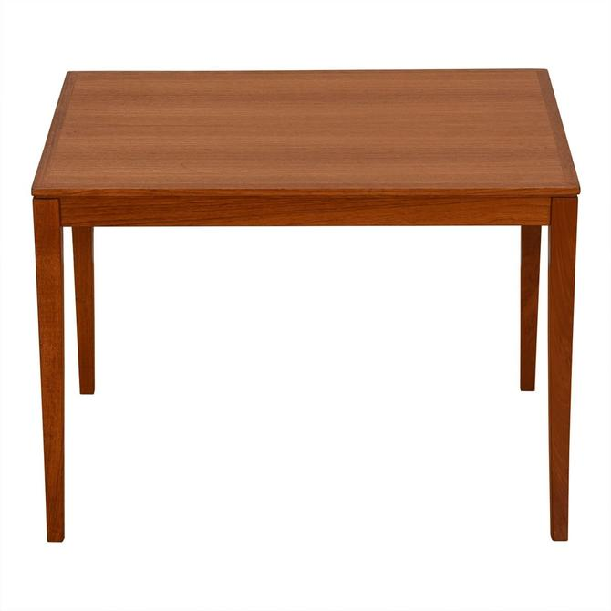 Danish Modern Teak Rectangular Accent / End Table