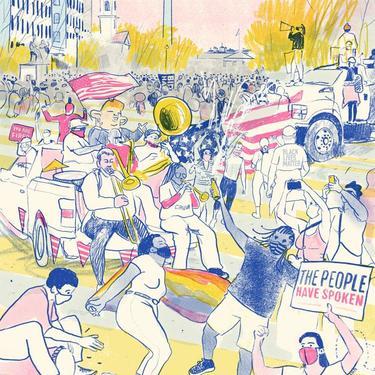 Celebrations at the Black Lives Matter Plaza [#184]