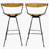 Rare Arthur Umanoff for Raymor Bar Stools