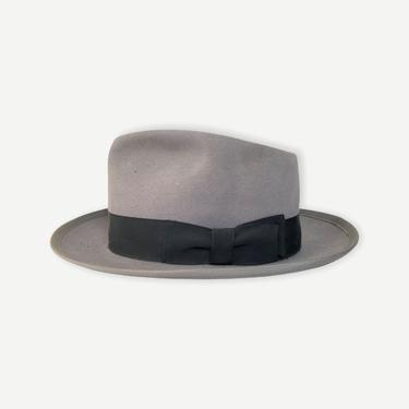 """Vintage 1950s LEE """"Warren"""" Fedora ~ size 7 to 7 1/8 ~ Bound Edge / Whippet Clone ~ Water-Bloc by SparrowsAndWolves"""