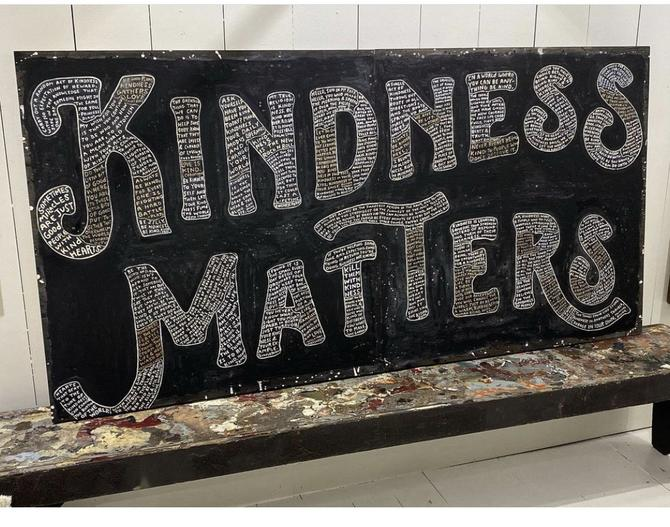 KINDNESS MATTERS Sugarboo Gallery Wrap Art Print Panels FREE SHIPPING