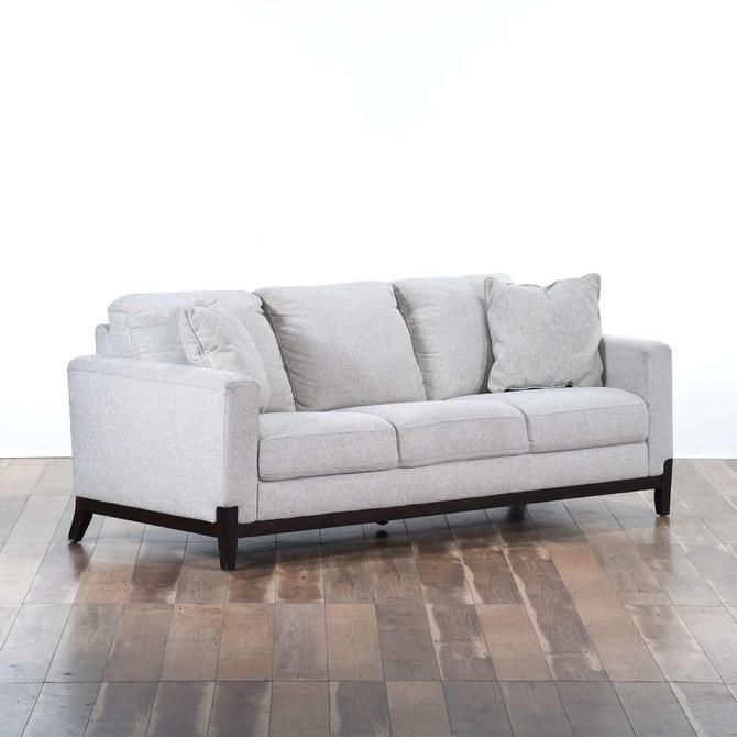 Contemporary Stone Grey Sofa