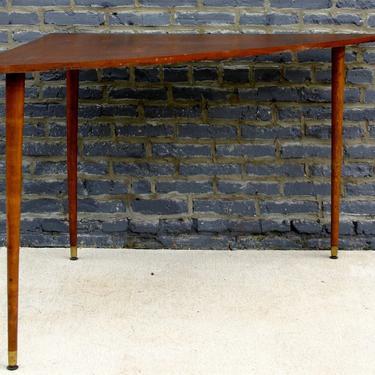 Mid-Century Modern Teak Corner Table