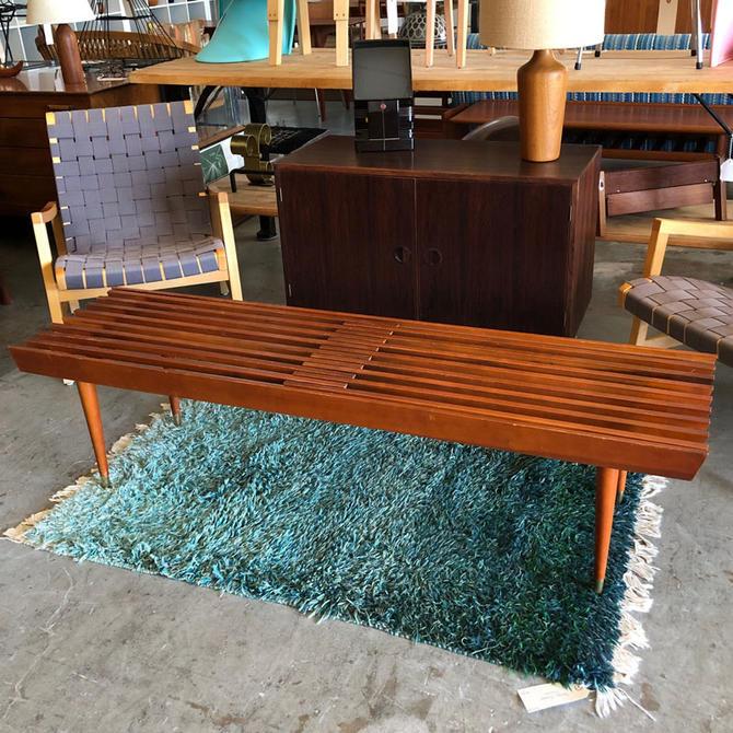 HA-18171 American Modern Slat Bench