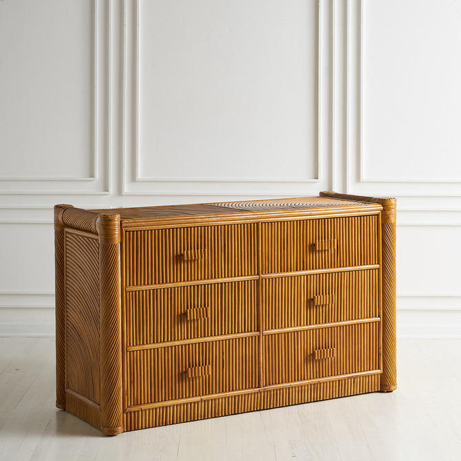 Split Reed Dresser in the Style of Gabriella Crespi