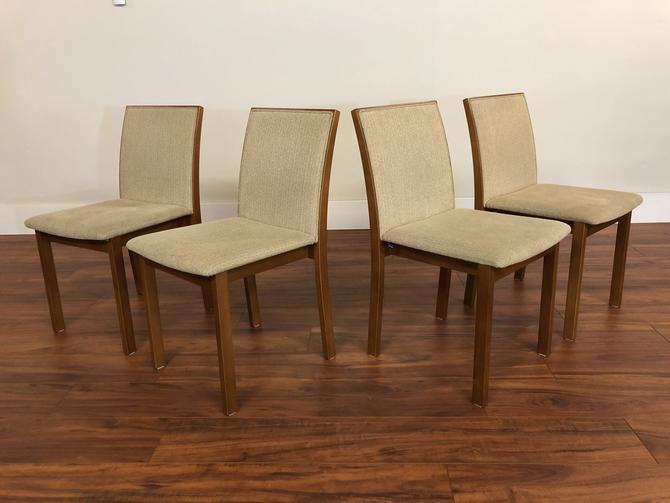 Skovby Teak Dining Chairs, Set of 4
