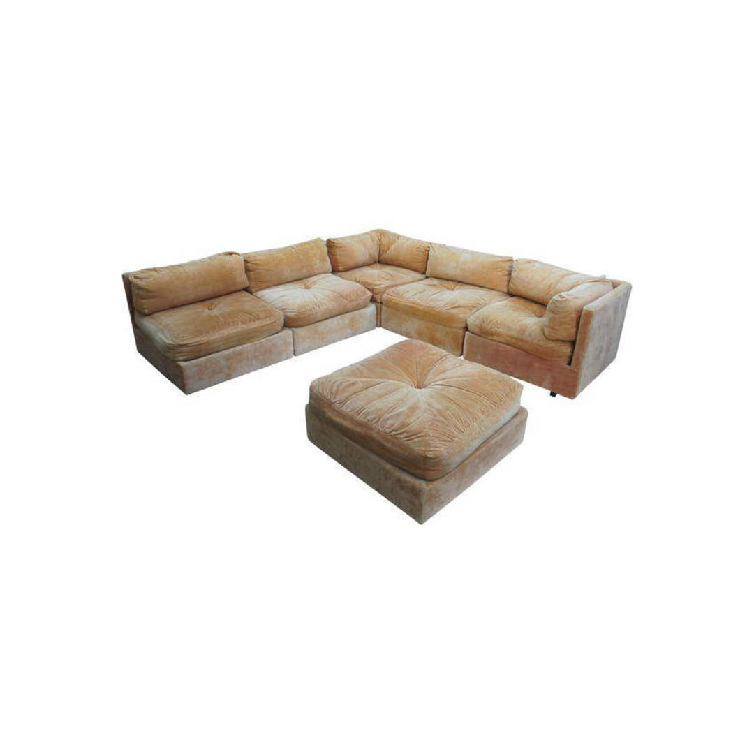 Milo Baughman For Forecast Furniture Modular Sectional