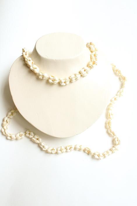 Vintage Seashell Layering Necklace