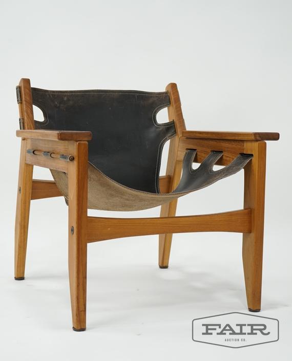 Sergio Rodrigues Teak Kilin Lounge Chair