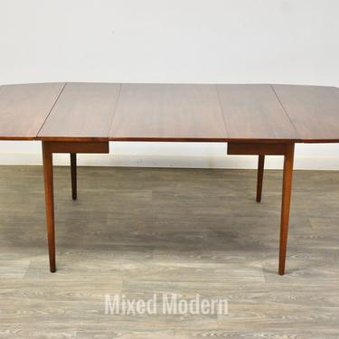 Kipp Stewart Drexel Walnut Drop Leaf Dining Table by mixedmodern1