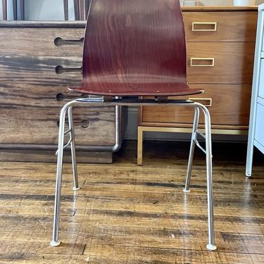 Vintage Pagholz Stacking Side Chair -Germany