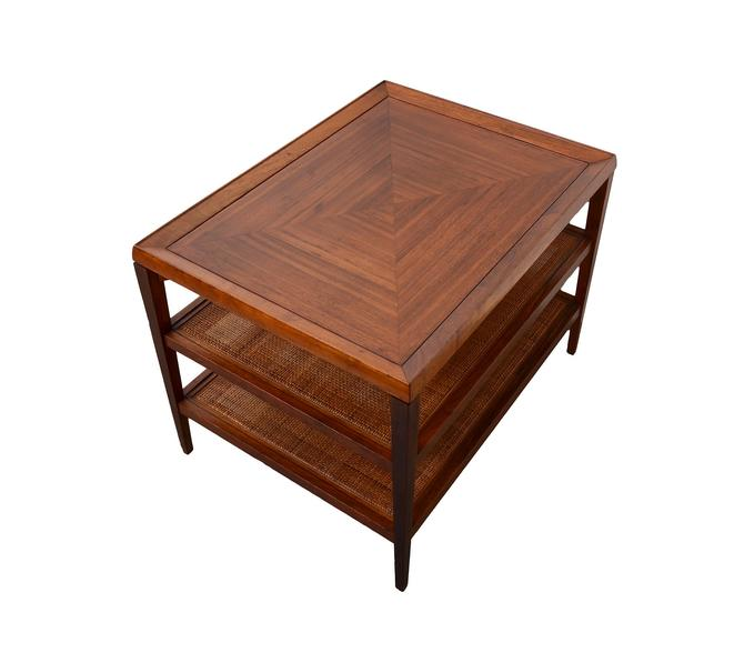 Walnut Side Table Kipp Stewart Calvin Furniture Co Mid Century Modern by HearthsideHome
