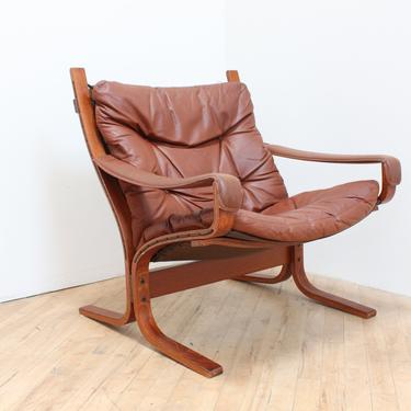 Mobelfabrik Sling Chair Ingmar Relling Westnofa Siesta Safari Armchair Norway Danish Modern Scandinavian Leather Mid Century Vestlandske by 330ModernAntique
