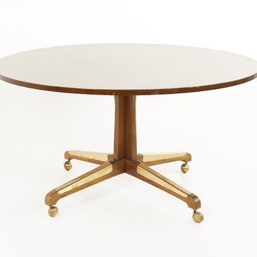 Broyhill Brasilia Mid Century Formica Top Dining Party Table - mcm by ModernHill