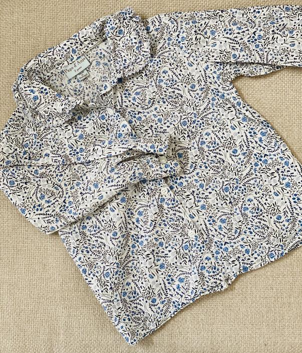 Floral Blouse by Papo d'Anjo, Size 2Y