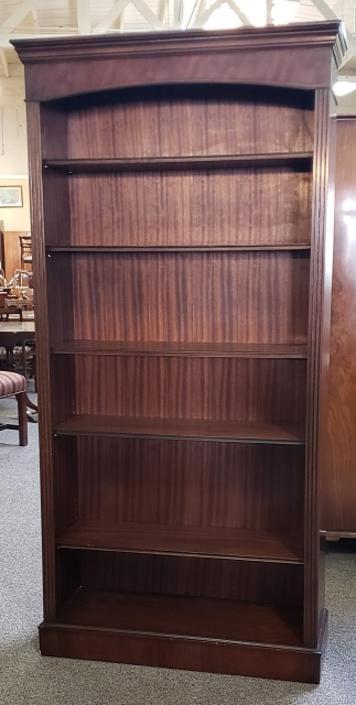 Item #S2037 English Made Vintage Mahogany Bookcase