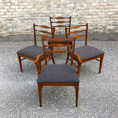 Mid-century Dining Chair Set