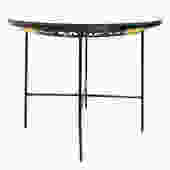 Umanoff for Shaver Howard Glass Round Dining Table