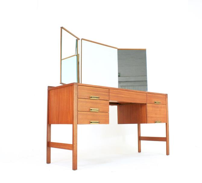 Mid Century Vanity Danish by SputnikFurnitureLLC