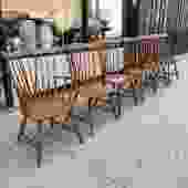 Simple Joys | Set of 6 Heywood Wakefield Windsor Chairs