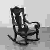 Green Man Rocking Chair