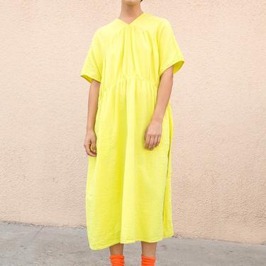 Atelier Delphine Lime Lihue Dress