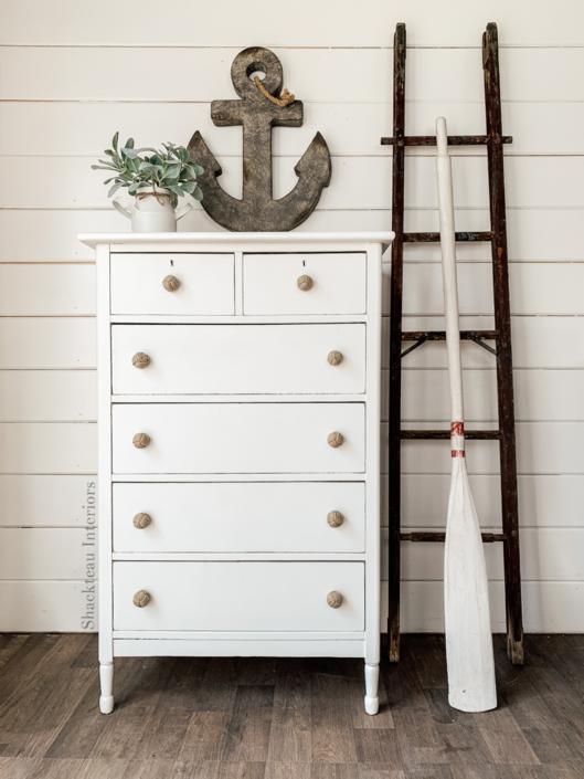 Coastal White Dresser