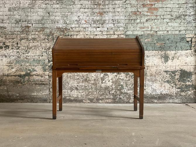 Vintage Buchan Loose Leaf Records Roll Top Oak Desk By Northgroveantiques From North Grove Antiques Of Freeport Il Attic