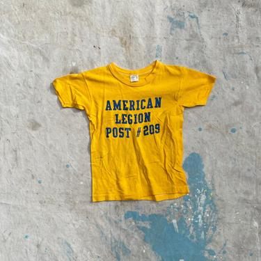 Vintage 1970s American Legion Post 209 Kids T Shirt Colorado Springs, CO by NorthGroveAntiques
