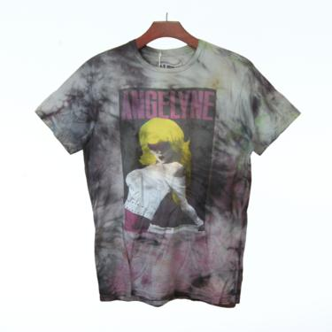 Angelyne Graphic Tie dyed tee