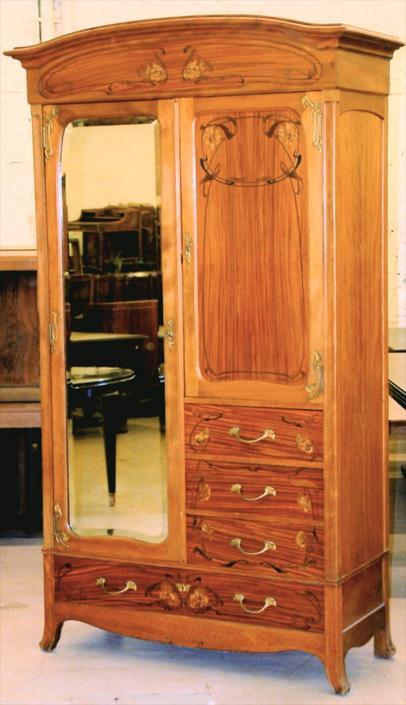 Sensational Abel Landry Art Nouveau Bedroom Set 1372 From Calderwood Download Free Architecture Designs Osuribritishbridgeorg