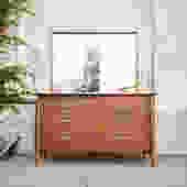 Drexel 6 Drawer Dresser with Mirror